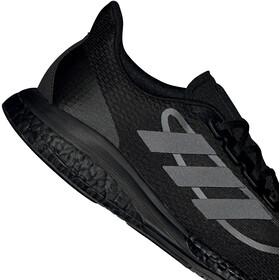 adidas Supernova + Shoes Men, core black/core black/iron metal